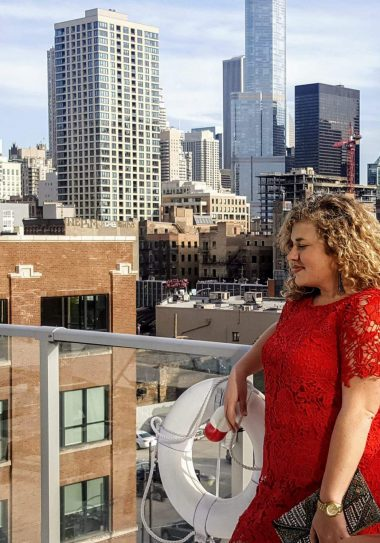 Plus Size Blogger Catherine of Dreamy Realist
