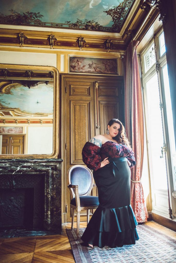 Eloquii debuts plus size evening wear with The Noir Collection featuring Tess Holliday