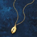 Dipped Coffee Bean Foodie Necklace