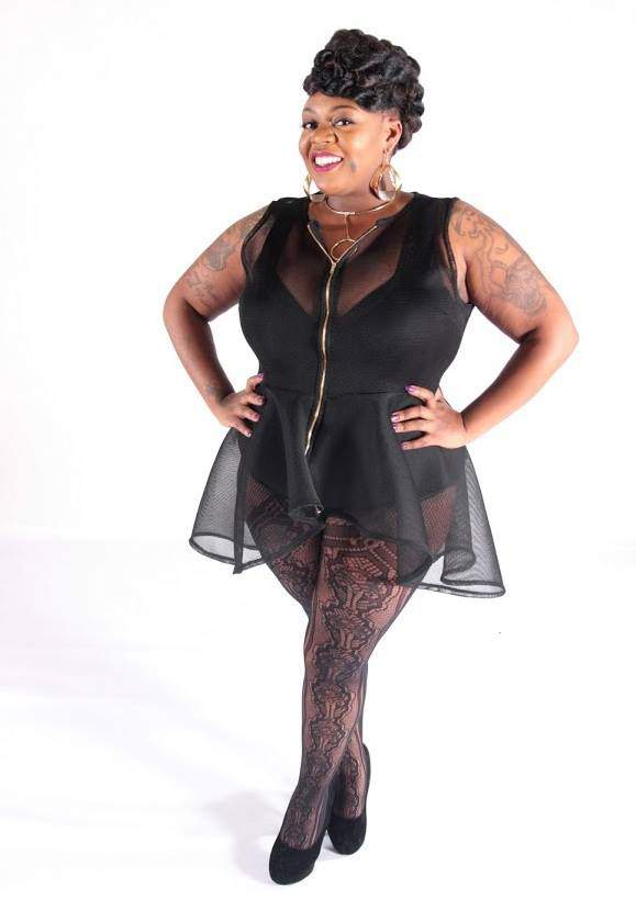 Plus Size Model- Nicole Robinson