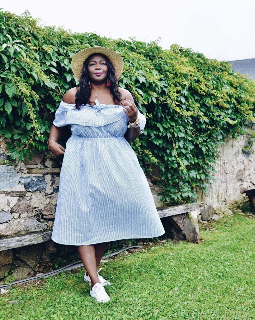 Plus size blogger spotlight- Assa of My Curves and Curls