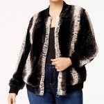 Plus Size Bomber Jacket by Belldini