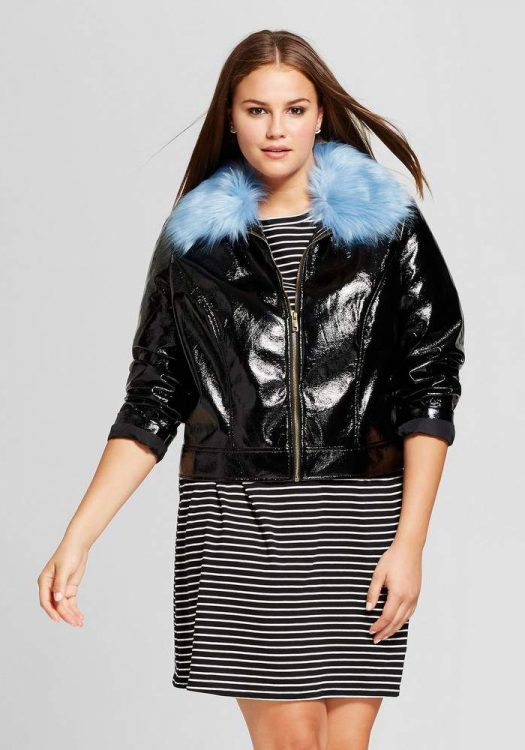 Plus Size Bomber Jacket by Target