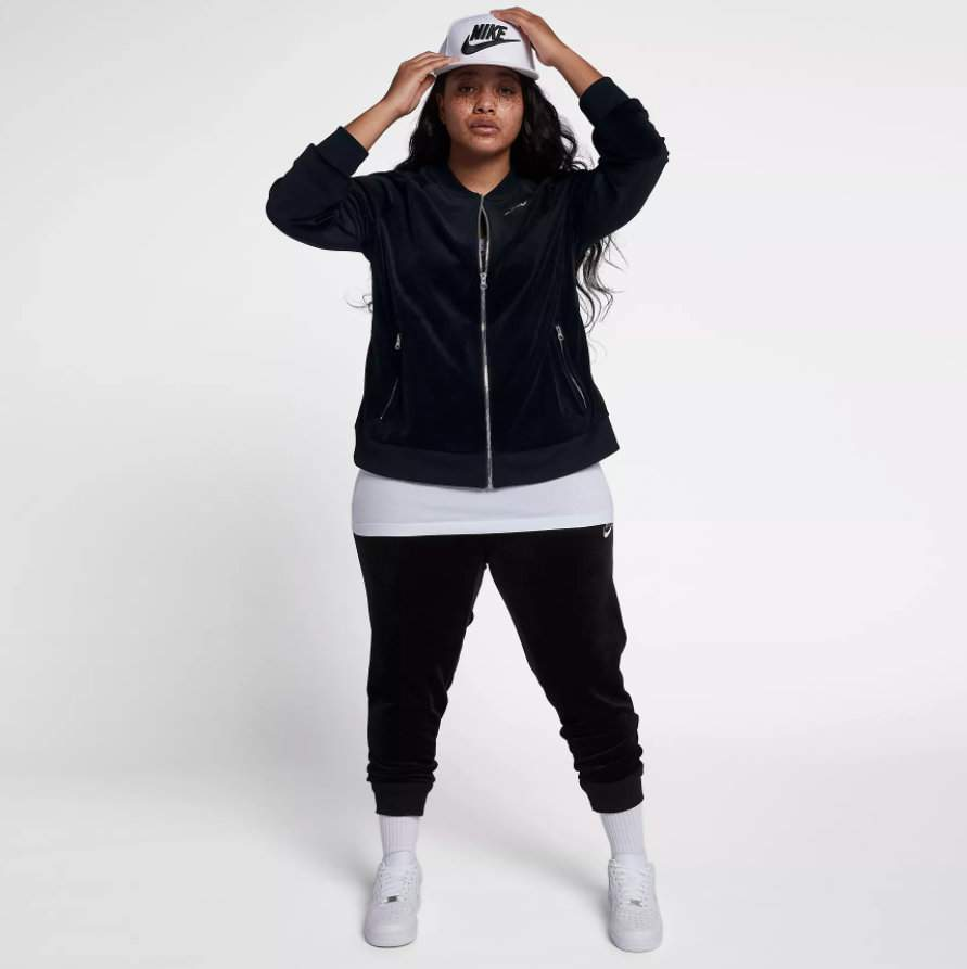 Nike Plus size active, sports, and leisure wear
