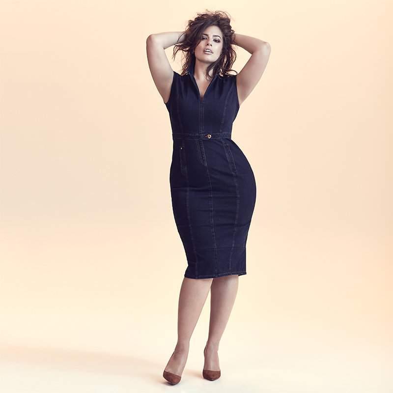 Ashley Graham for Marina Rinaldi Denim Collection