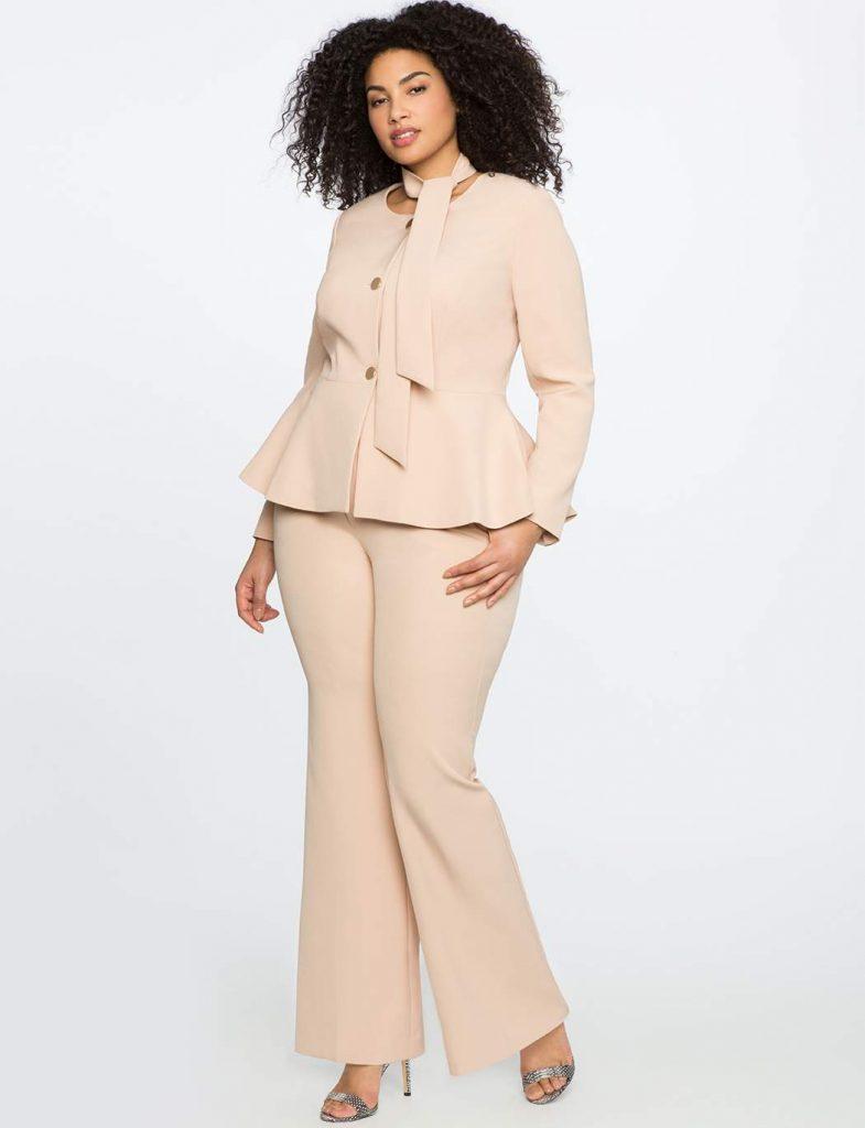Eloquii Plus Size Fashion Suiting