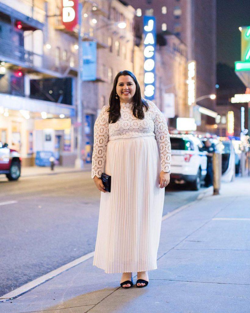 Plus Size Blogger Spotlight-Emily of Something Gold Something Blue