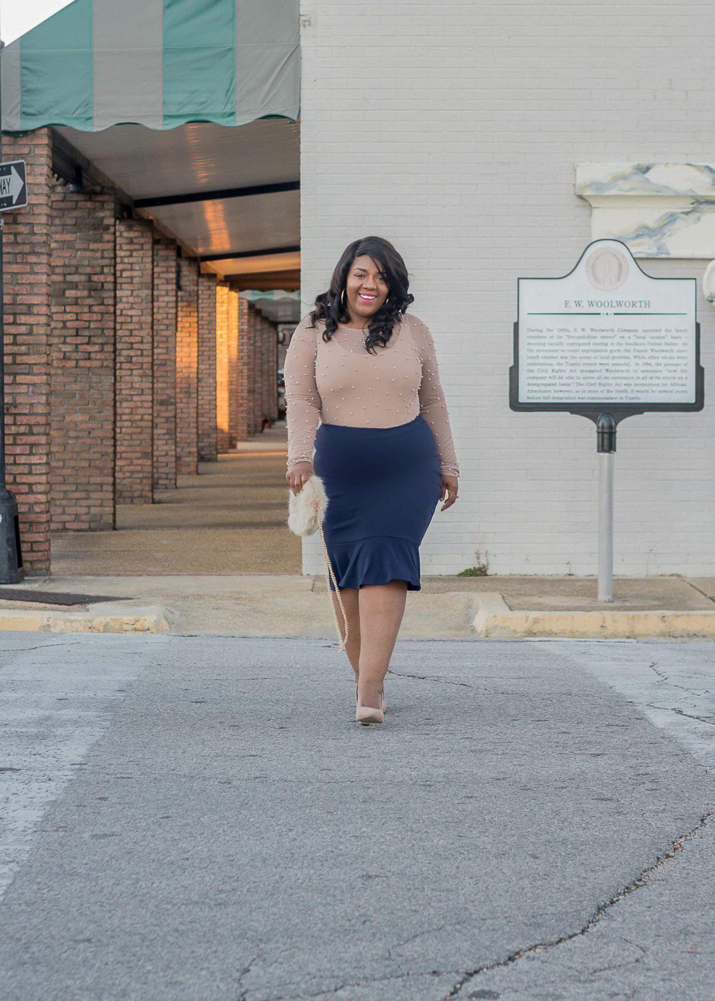 plus size blogger spotlight- sweat in mascara