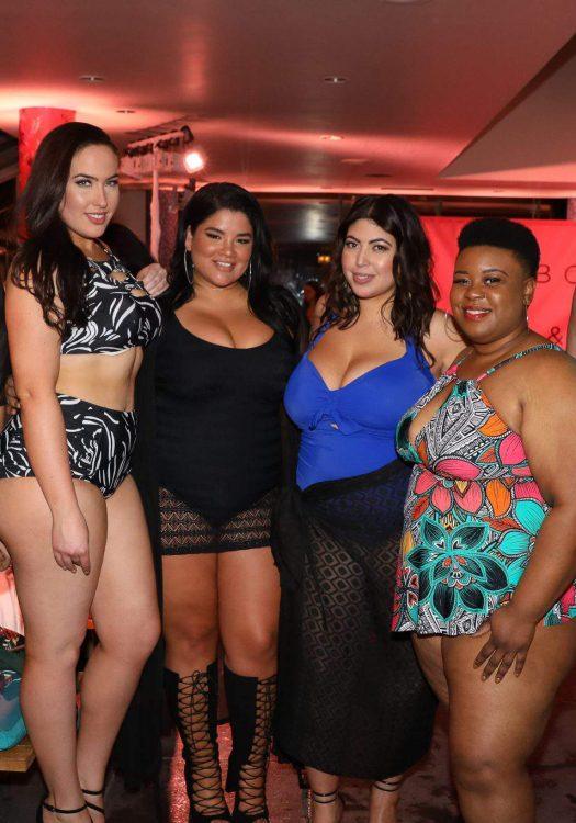 Jessica Milagros, JC Penney, Plus Size Swimwear