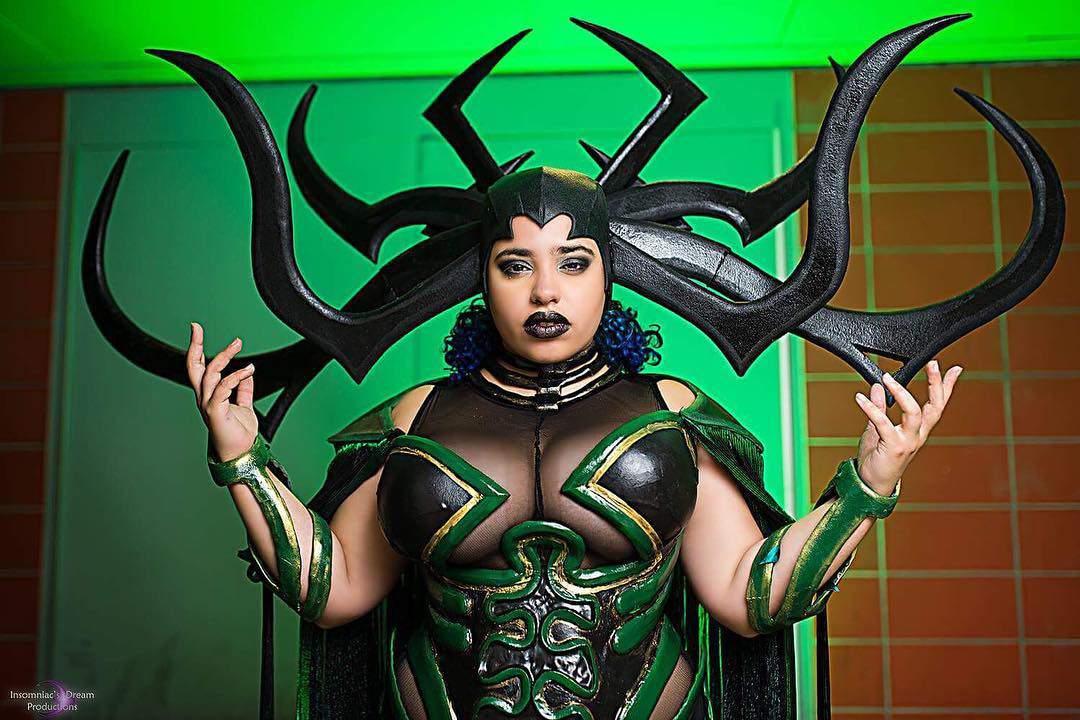 cin_von_quinzel plus size cosplay