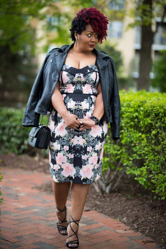 Marie Denee in City Chic Dress from Macys