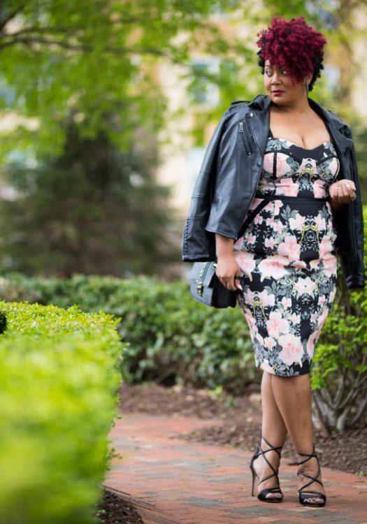 Marie Denee in City Chic Dress from Macys (3)