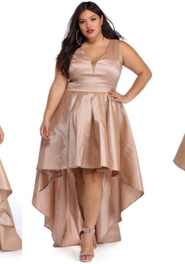 25 Fly Plus Size Prom Dresses