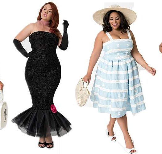 Barbie x Unique Vintage Plus Size Vintage Collection