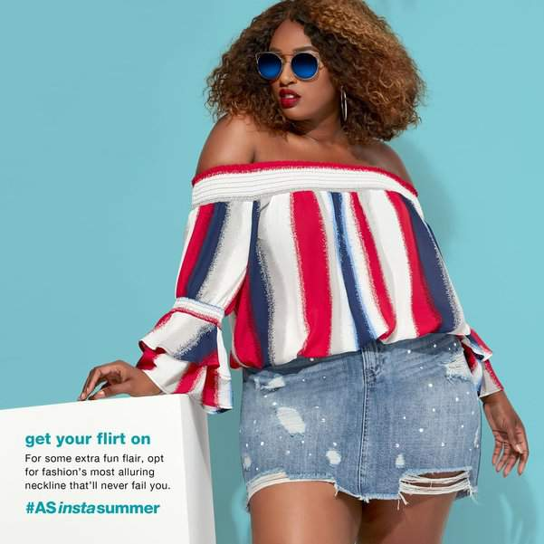 Happy Memorial Day from your friends at TCF! We know you're probably out and about enjoying the day but check out these plus size Memorial Day looks that are wow-ing the day.