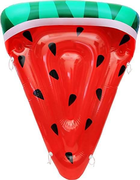 Plus Size Friendly Pool Floaties- Watermelon Pool Float