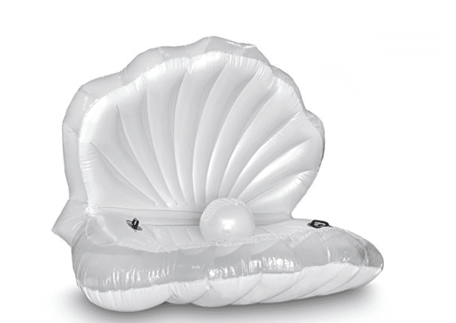 Plus Size Friendly Pool Floaties- Clam Pool Float