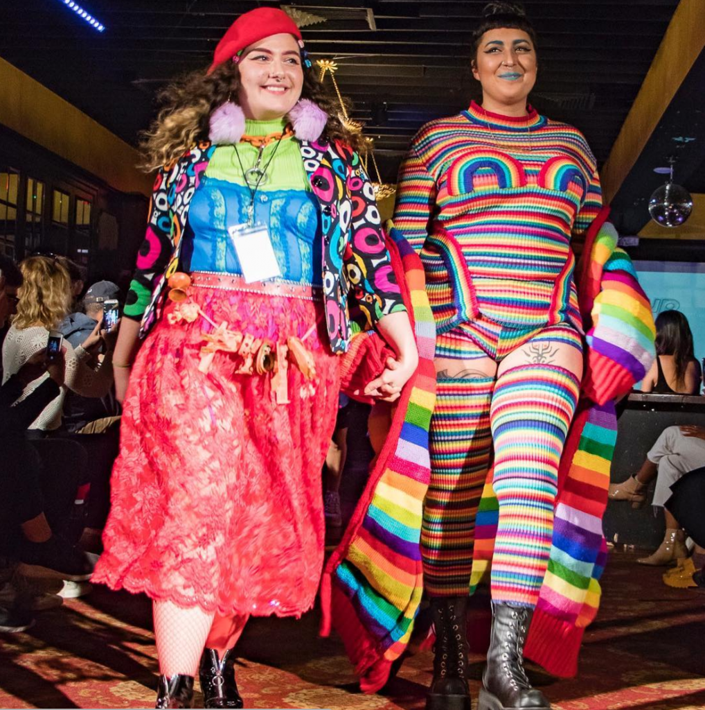 Grace Insogna channeled her own inner struggles to do something that's never been done before at the Fashion Institute of Technology (FIT)--she used a plus size model during it's exclusive fashion show. Read more about it here.