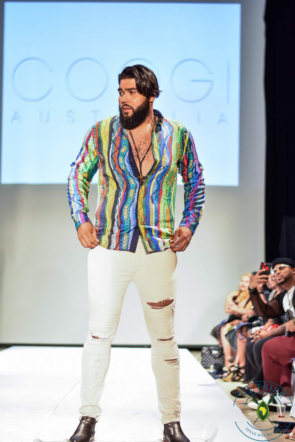 FFFWeek Bae Walks Big & Tall Fashion Show