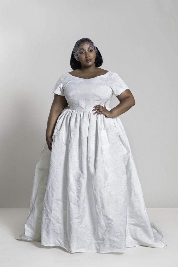 Plus size designer- Jibri 2018 Evening Wear and Plus Size Bridal Collection