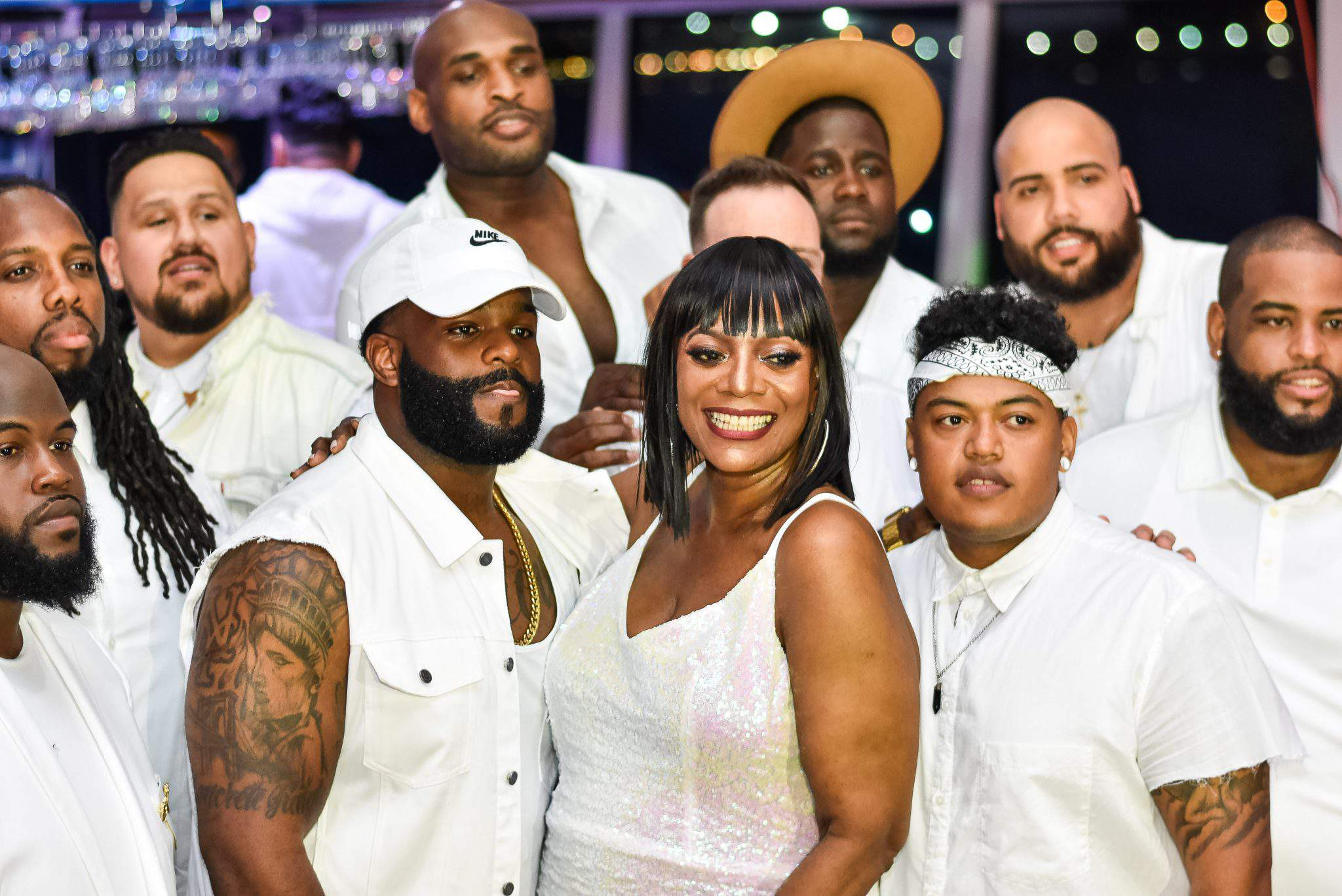 """""""Curves at Sea"""" All White Cruise"""