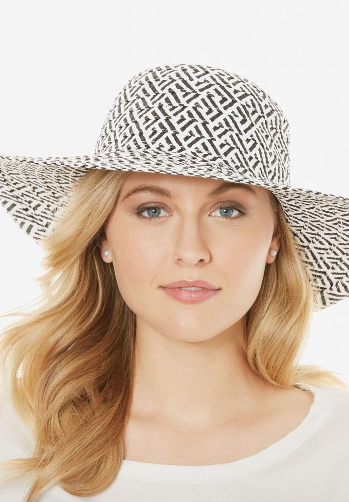 Hats for Big Hair and Big Heads- Jessica London Floppy Sun Hat