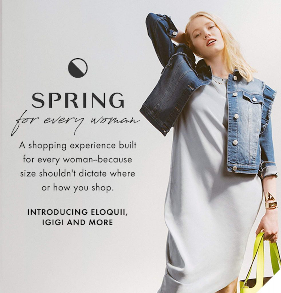 Spring Opens Its Virtual Doors to Plus Size Fashion!