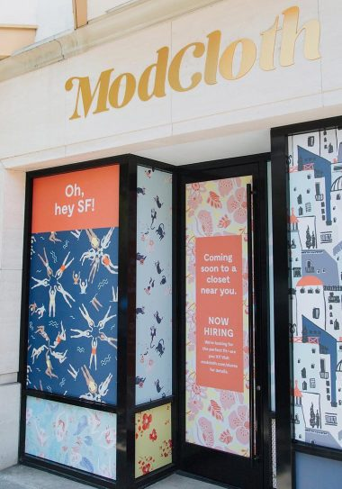 ModCloth is known as an online retailer with fresh styles but now they've opened up their second FitShop in San Francisco!