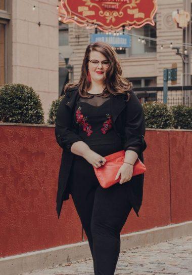 Plus size blogger spotlight- Anna of St Louis Modern Mrs
