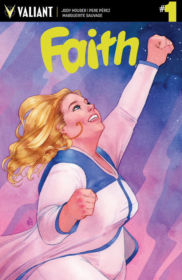 Faith, a Plus Size Superhero Is Coming To The Big Screen!