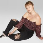 Wild Fable in Plus Sizes at Target- Wild Fable Women's Plus Size High-Rise Destructed Skinny Jeans