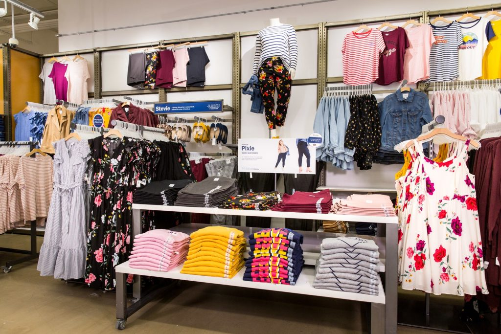 Old navy plus sizes to be carried in store