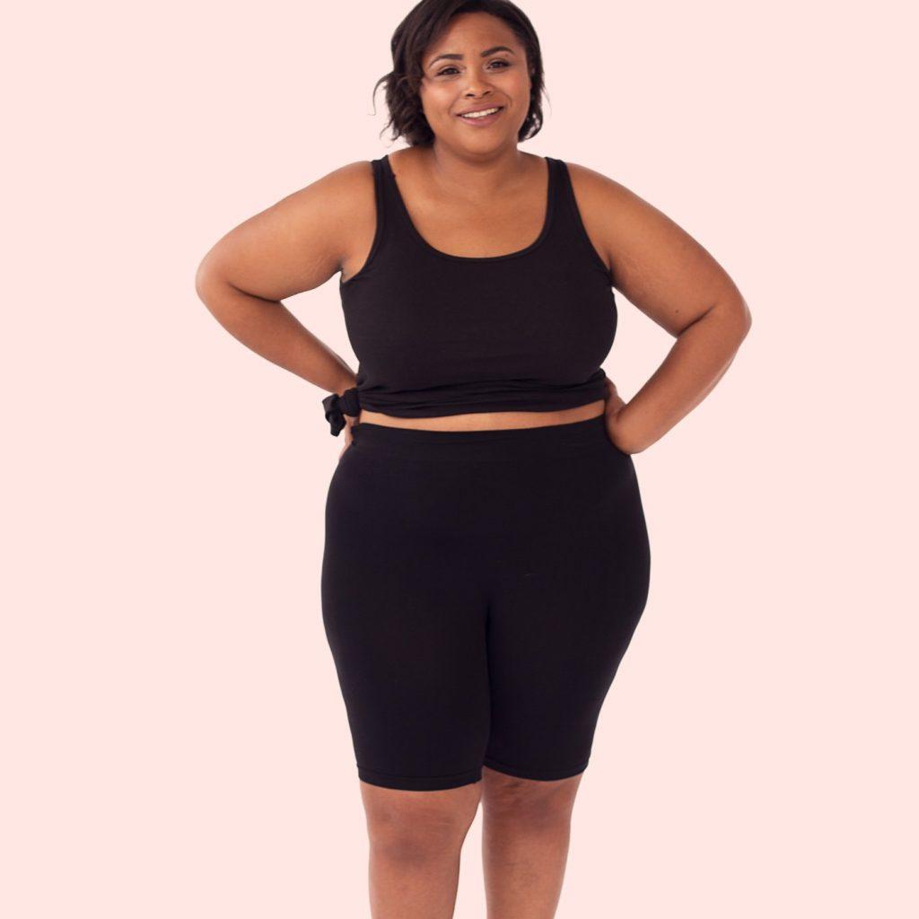 Thigh Society- Plus Size Slip Shorts