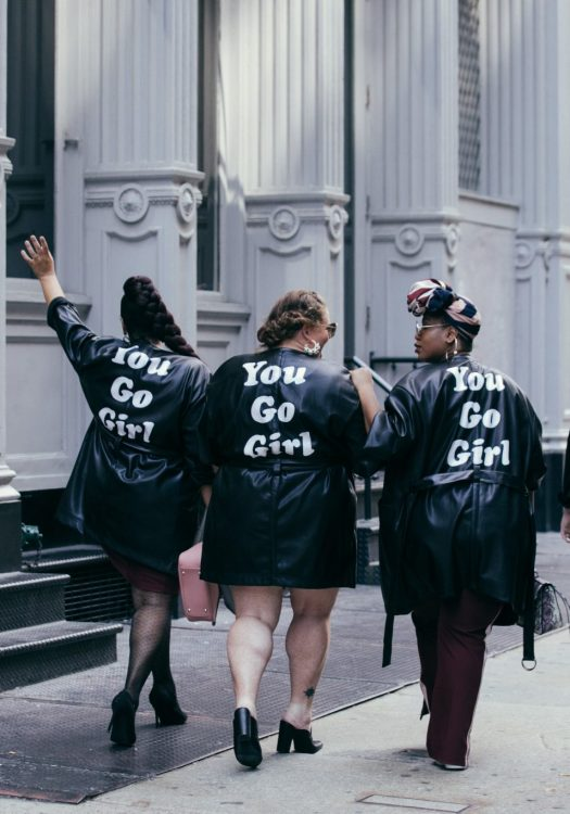 See Rose Go's Street Style NYFW Campaign is #SquadGoals at NYFW!