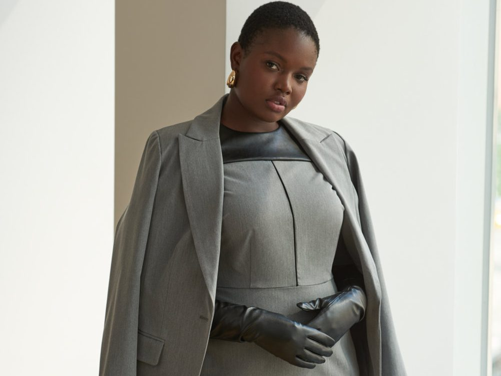 Fall Plus Size Suiting By Eloquii