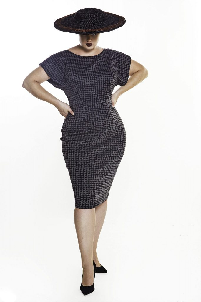 JIBRI Black Bodycon dress