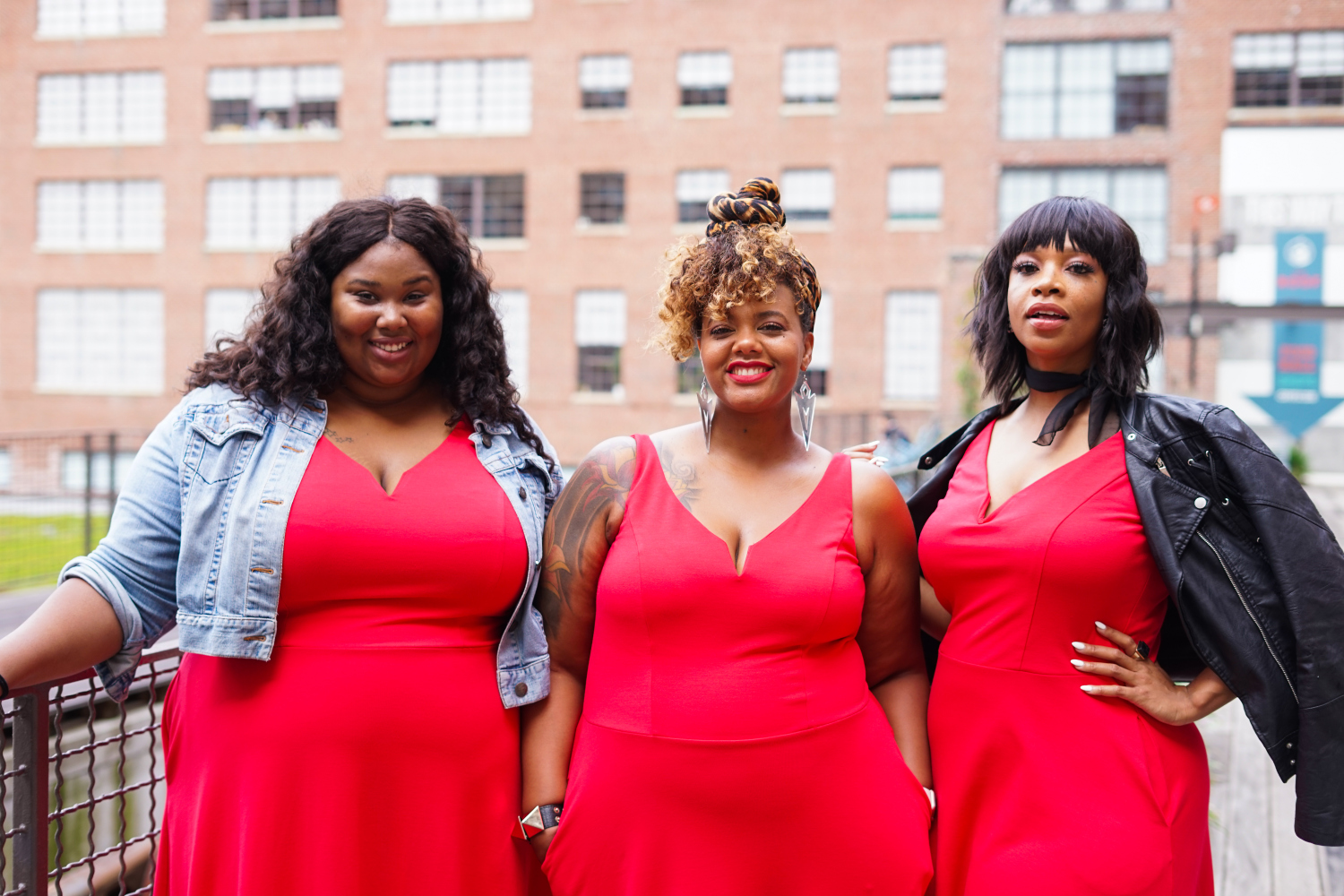 Show Me, Style Me: One Plus Size Red Dress- 3 Looks on The Curvy Fashionista