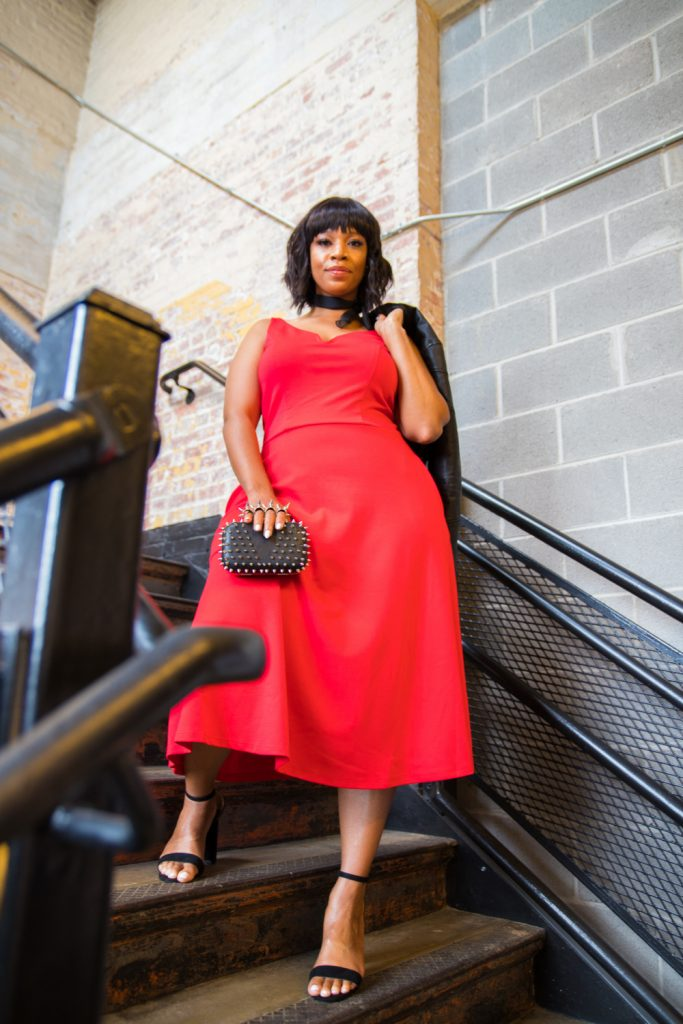 Show Me, Style Me: One Plus Size Red Dress- 3 Looks!