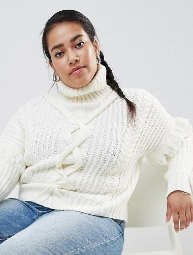 Cute Plus Size Sweater Finds Under $50