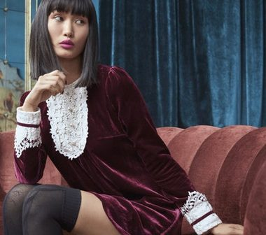 Romance and Runway Meet For ModCloth x Anna Sui's New Fall Collection!