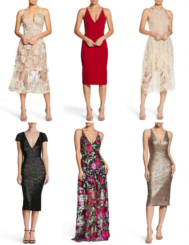 Dress the Population at Nordstrom- Plus Size Wish List