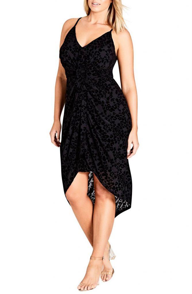 Love a Plus Size Leopard Print, then Check These Out- CITY CHIC Mod Drape Dress