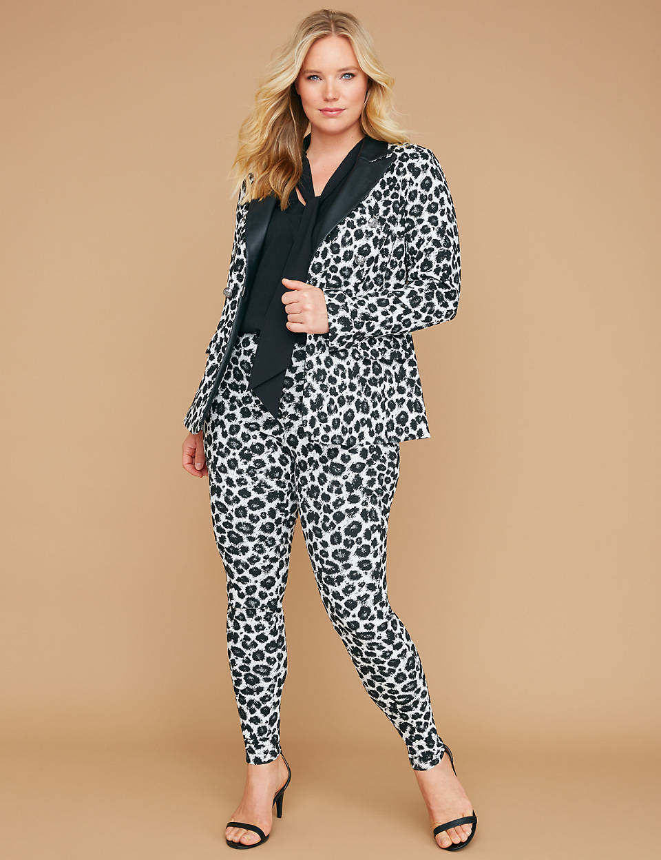 Love a Plus Size Leopard Print, then Check These Out- Bryant Blazer – in Smart Stretch Leopard
