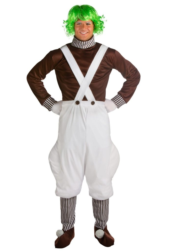Plus Size Chocolate Factory Worker Costume