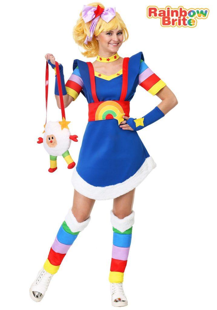 Rainbow Brite Adult Plus Size Costume