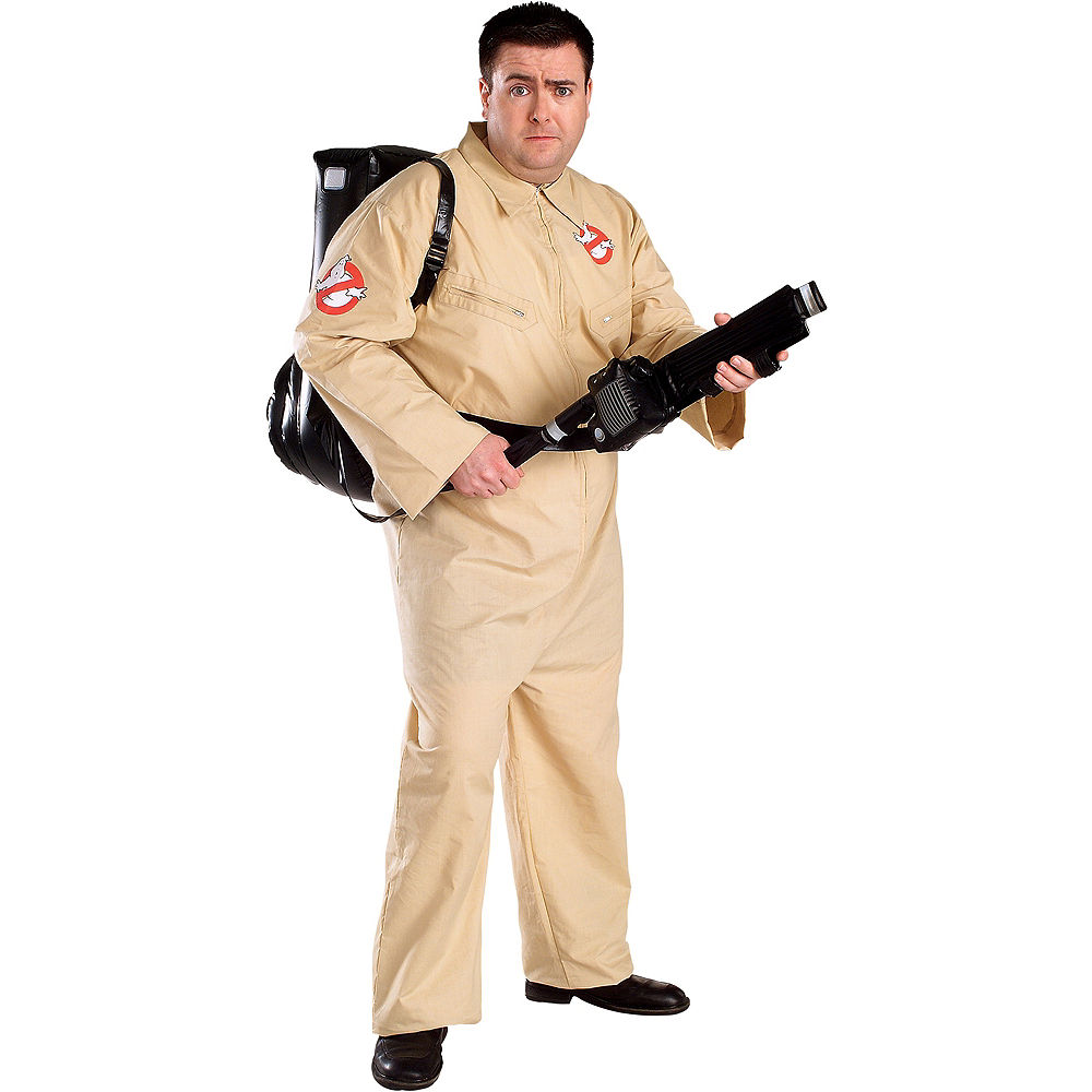 Adult Plus Size Ghostbusters Costume at PartyCity.com
