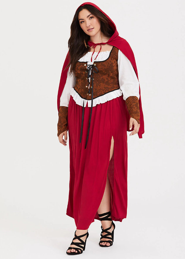 Leg Avenue Halloween Woodland Red Riding Hood Costume at Torrid