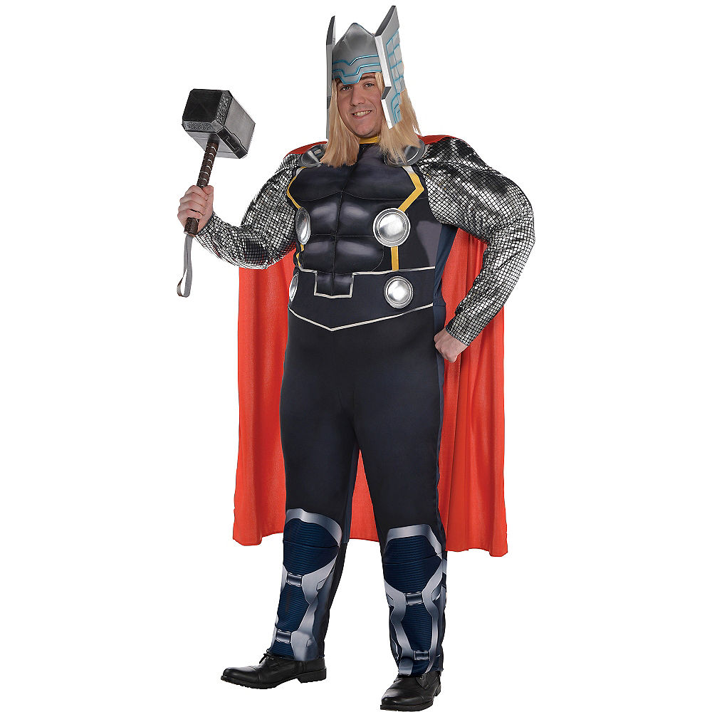 Adult Thor Muscle Costume Plus Size at PartyCity
