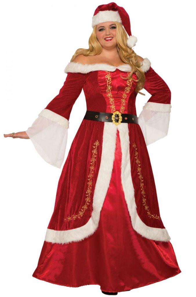 Mrs. Claus Plus Size Costume