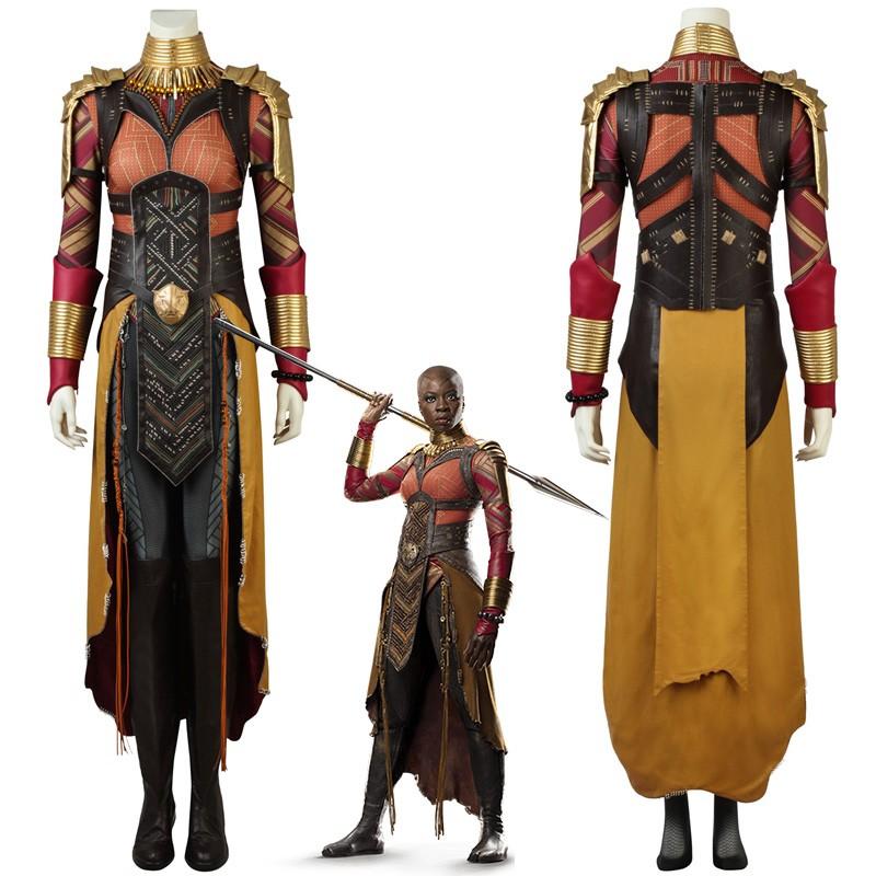 Black Panther Okoye Cosplay Costume